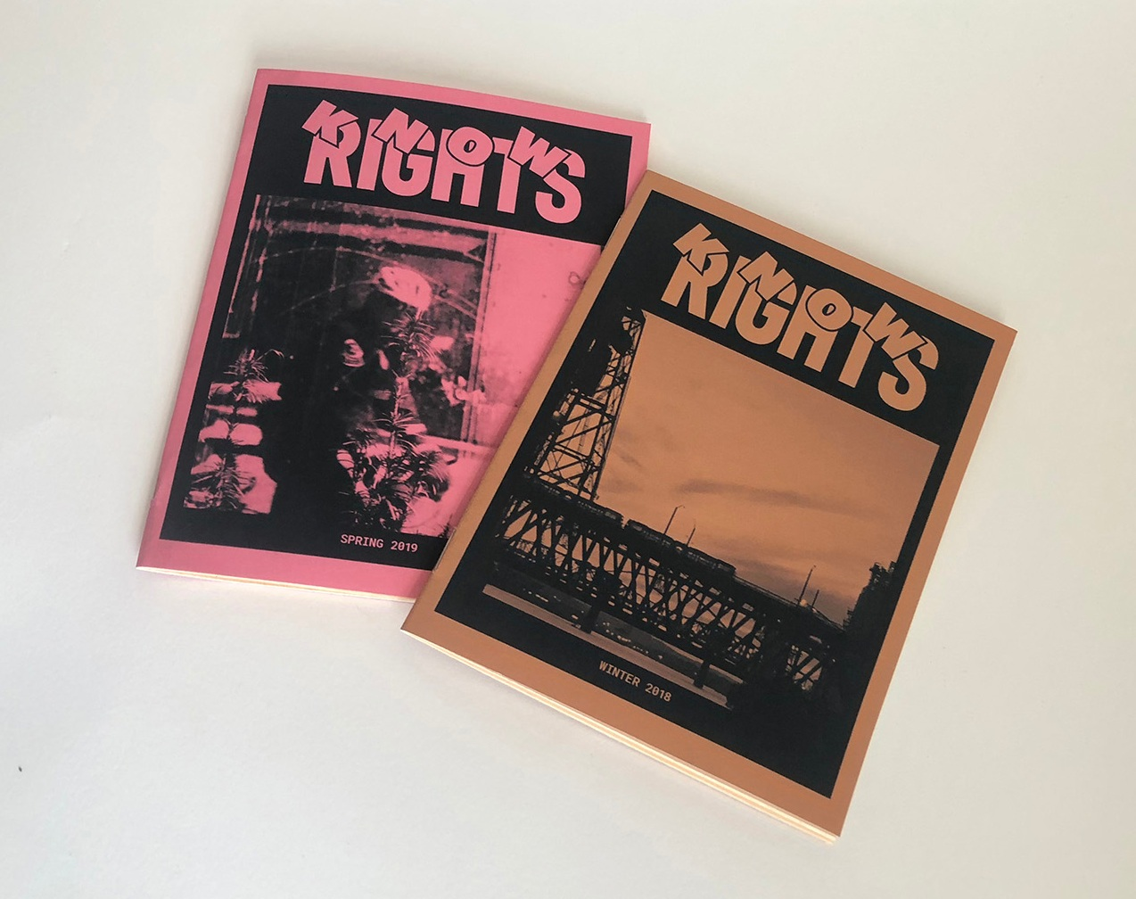 know RIGHTS - Who has the time to search through all the news outlets to find reliable, relevant, news? KNOW RIGHTS is a free, quarterly, news publication that presents local news, and important issues, curated to keep busy Portlanders informed. KNOW RIGHTS is advertisement-free preventing bias and clutter.