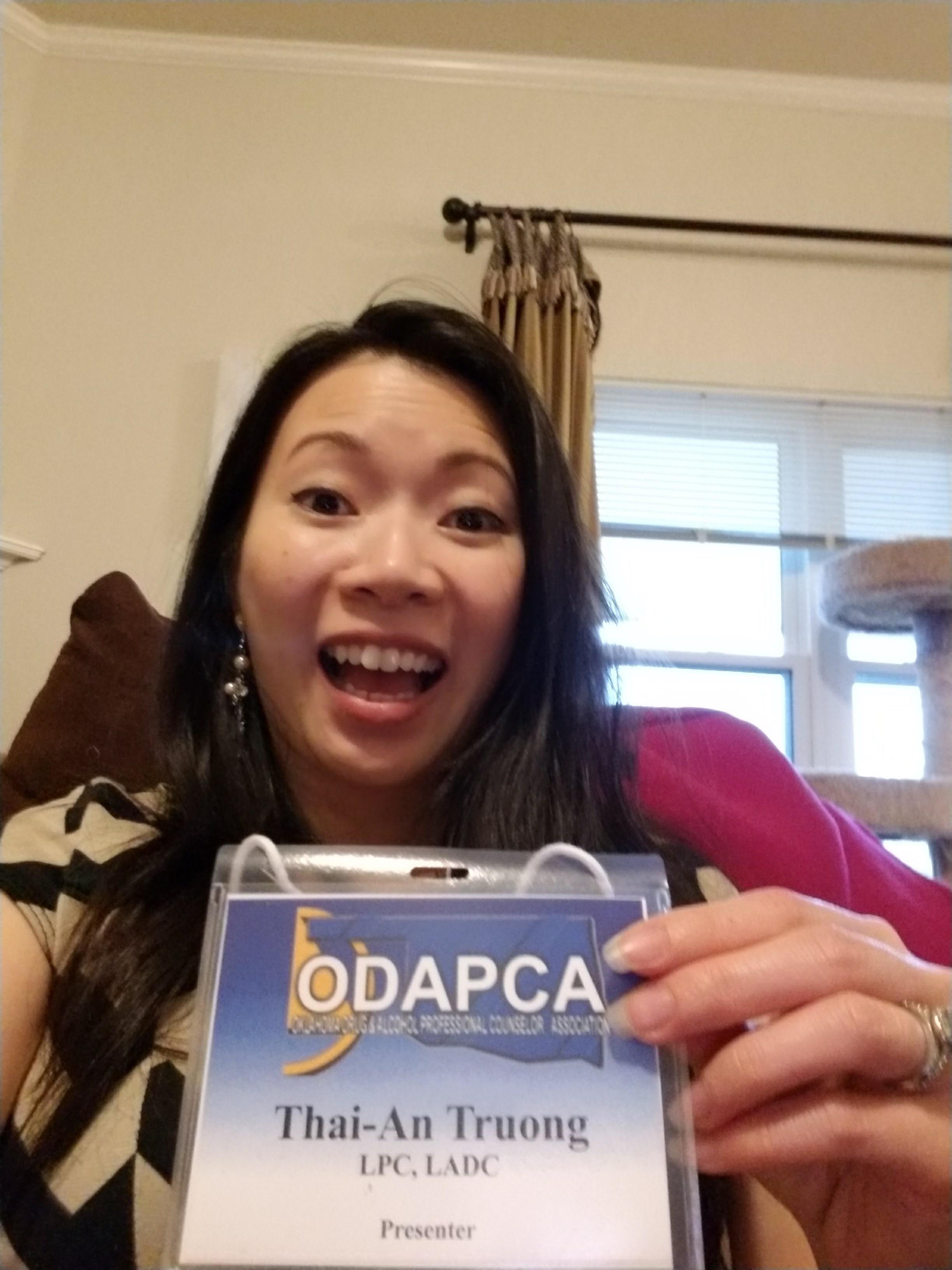ODAPCA Presenter Thai-An Truong Oklahoma