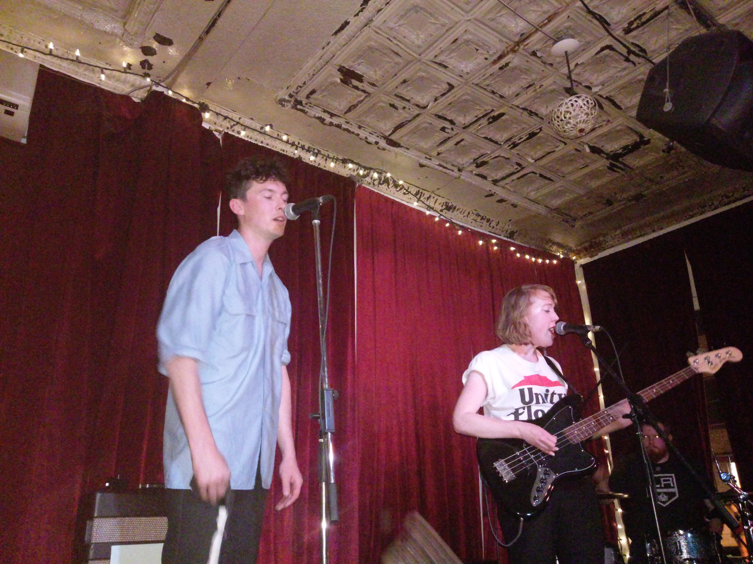 We played quite a few shows with Heart Beach, also ex-Tasmania, now living in Montreal.