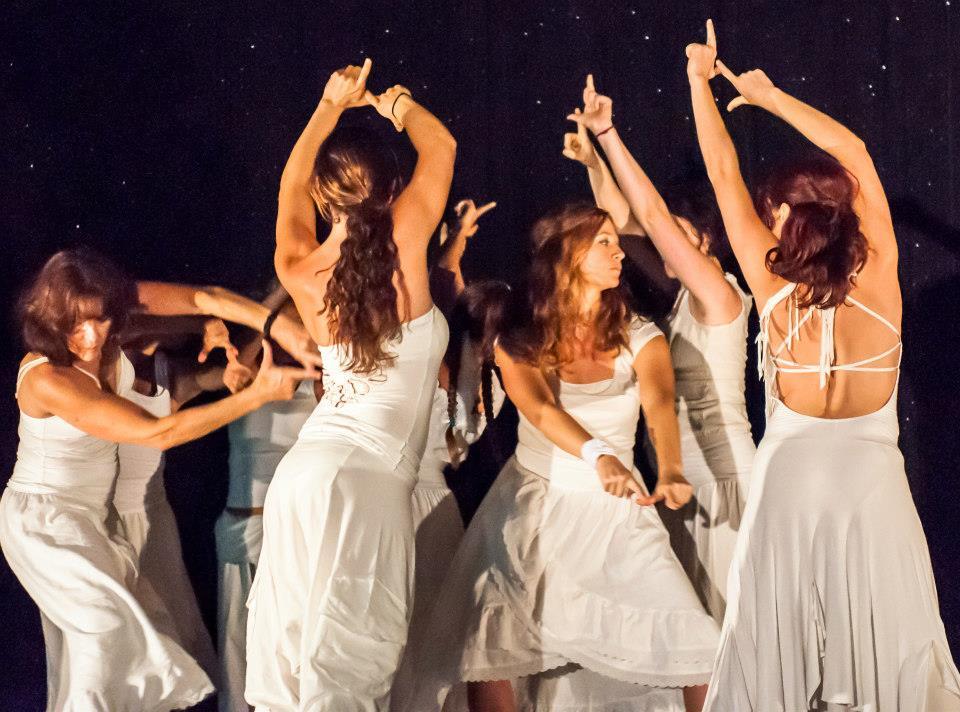 Dancinc with Rosangela Silvestre in Oracle