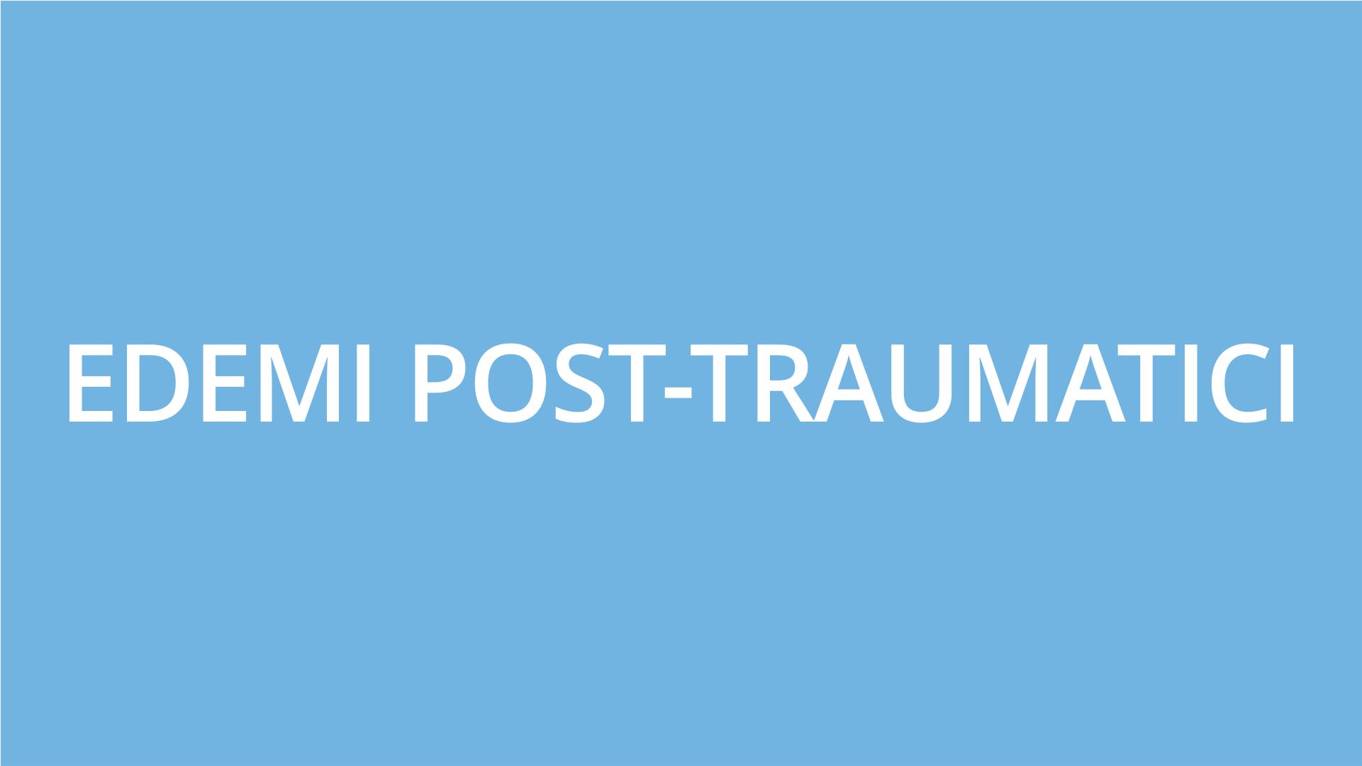 fisioterapia ughetta piacenza - edemi post-traumatici