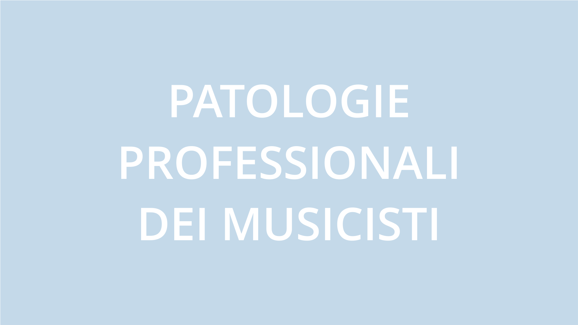 fisioterapia ughetta piacenza - patologie professionali dei musicisti