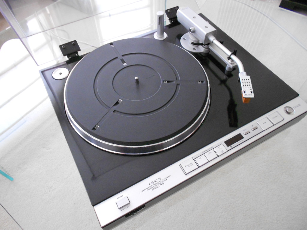 Sony PS-X75 turntable