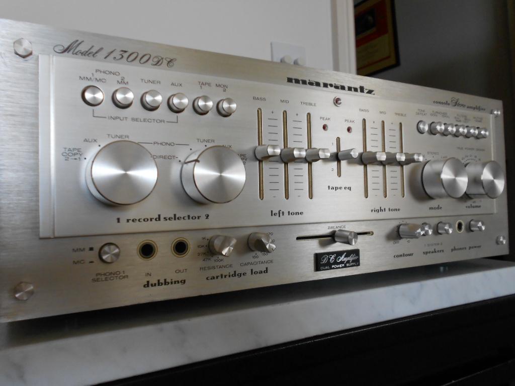 Marantz 1300 DC amplifier 002.JPG