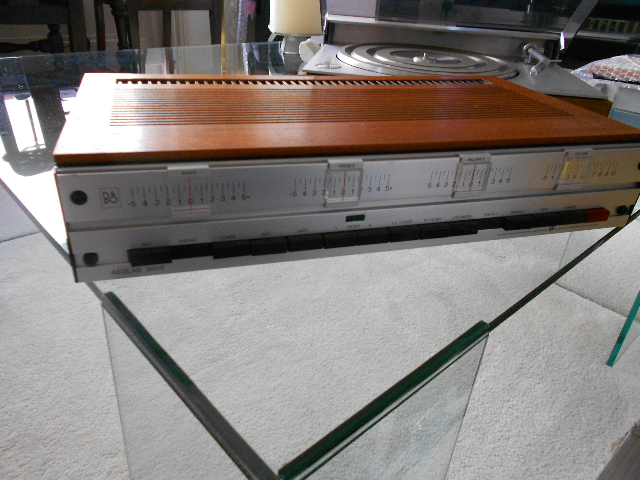 Bang and Olufsen Beolab 5000 amplifier