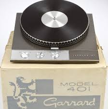 Garrard 401 turntable manufactured 1965-1976.