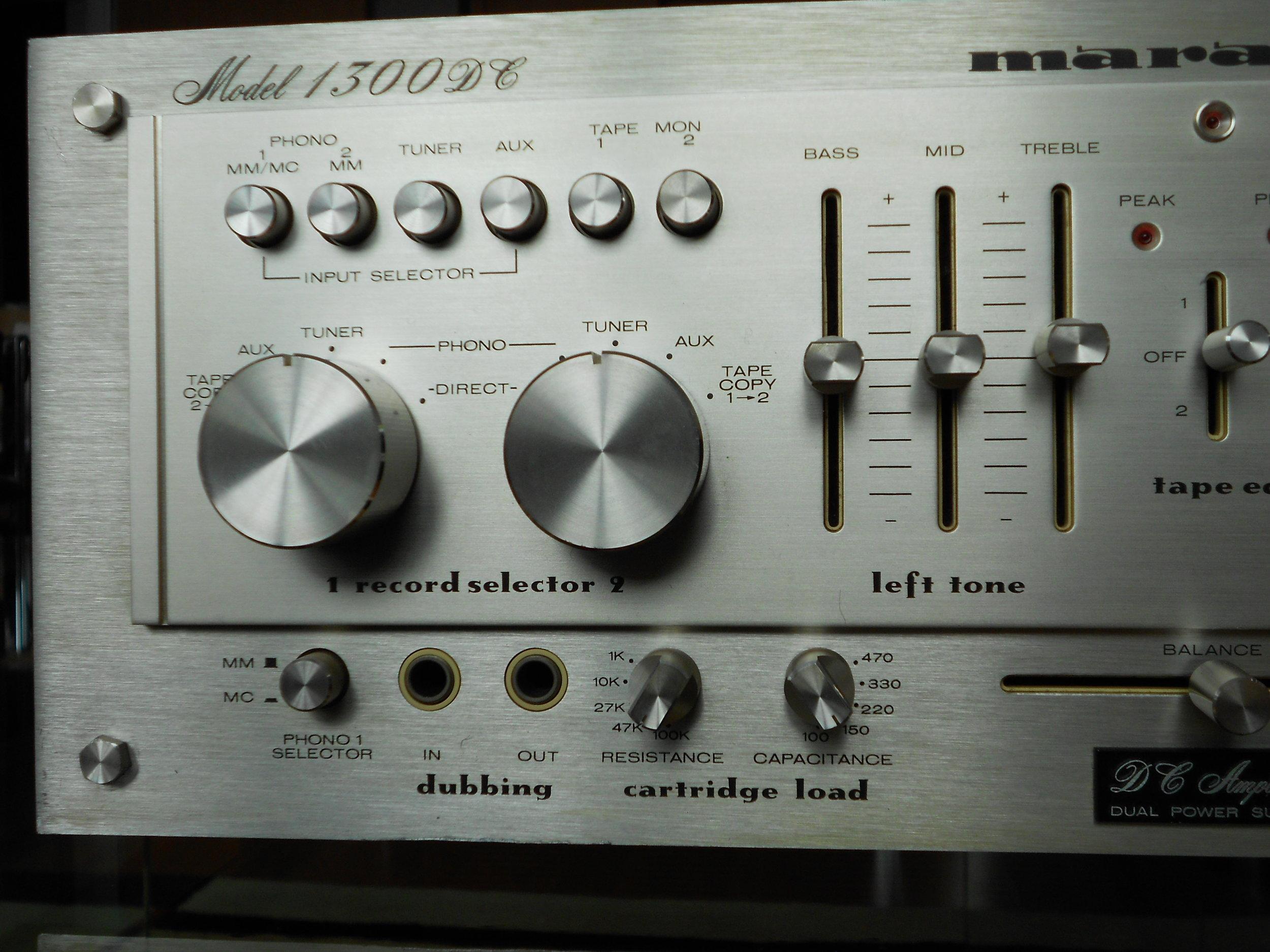 Marantz 1300DC amplifier