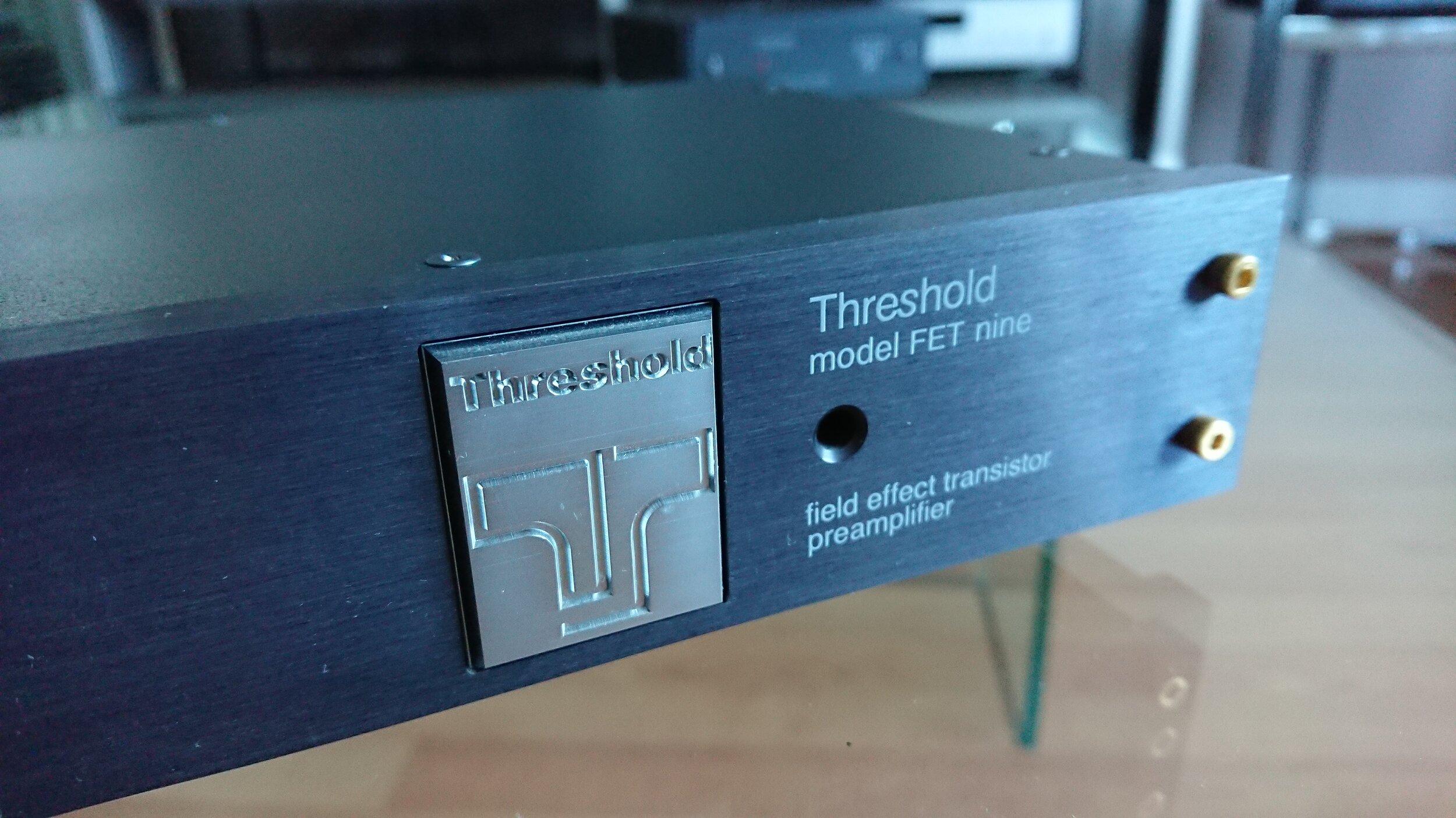 Threshold FET nine pre-amp