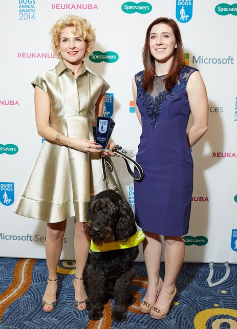 'As a person and an inspirational speaker, Verity personifies the ability in disability by always pushing the boundaries of what is possible. In late 2014 the Mail on Sunday readers voted her 'UK Inspirational Guide Dog Owner of the Year with Uffa, her Guide dog'.
