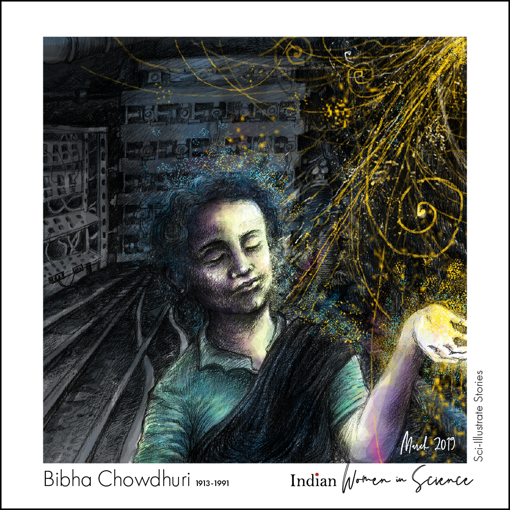 Biba chowduri_indian_women in science_ sci-illustrate