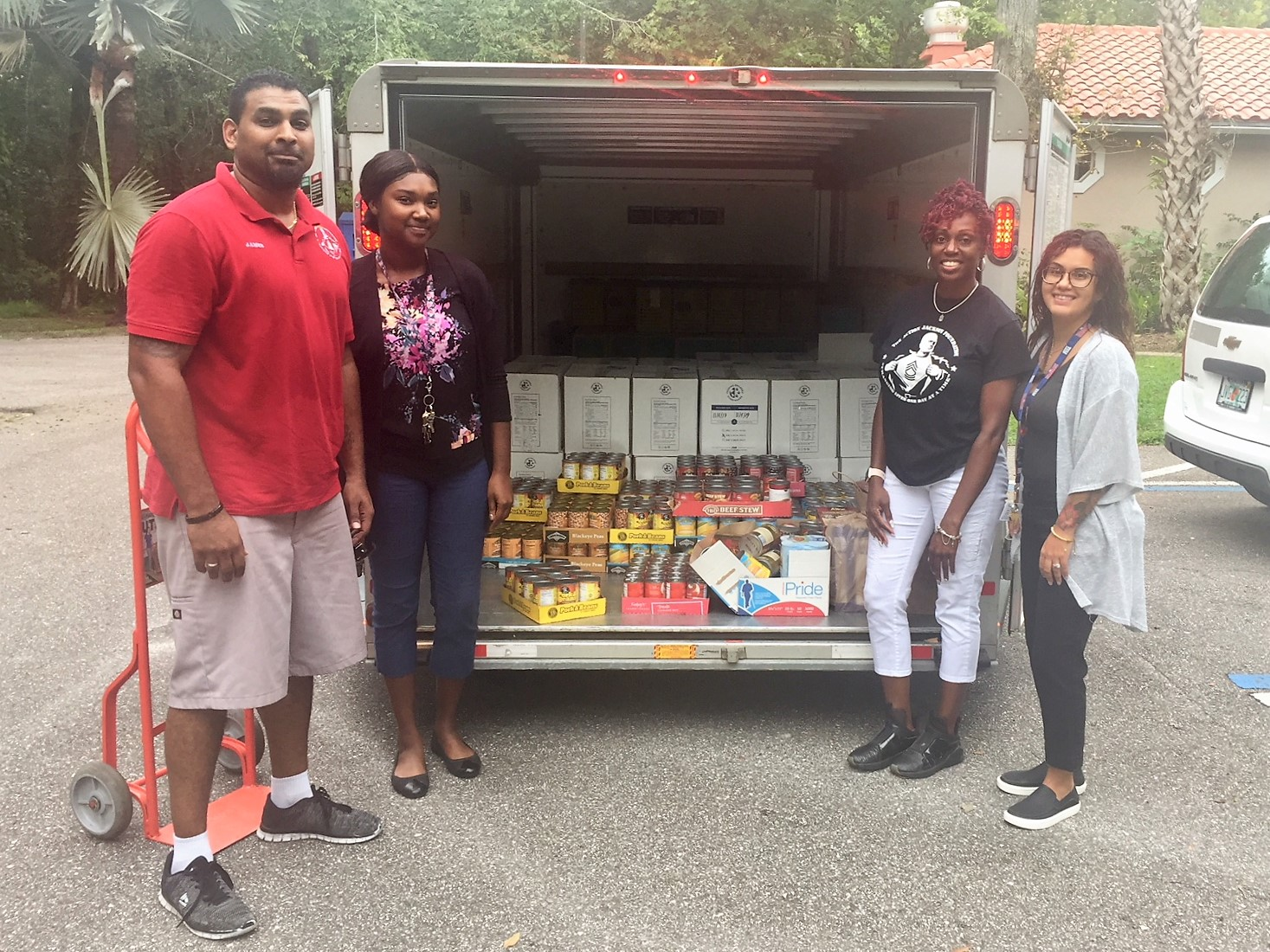 The Action Jackson Foundation made a very generous donation of food to the RAP House.  YFA is grateful to its community partners.  For ways to help YFA's residential facilities & foster care programs, please call 727-276-1933.