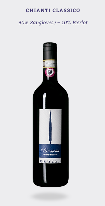 A food-friendly and approachable wine with immediate appeal produced from young Sangiovese vines, and a bit of Merlot.