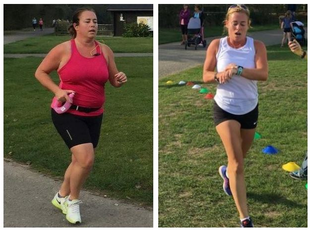My first parkrun in September 2015, and my parkrun in September 2016