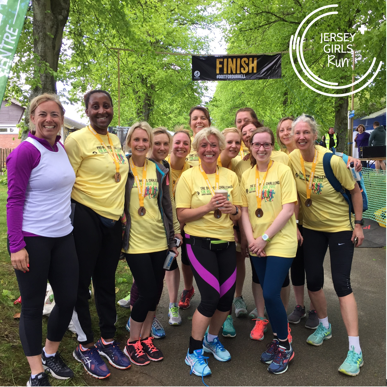 14 MAY 2017 - JERSEY GIRLS take up the Challenge - 22 JERSEY GIRLS took part in the 2017 Durrell Challenge alongside Jersey's own Superman, Henry Cavill. The Durrell Challenge is a 13k road race from West Park to Jersey Zoo which includes a few challenging hills.Many of these women have been through our Couch to 5k program within the past year with two having only just started running at the beginning of 2017. Some of them have also been training on our 5k and Beyond program with the specific goal of completing the The Durrell Challenge.