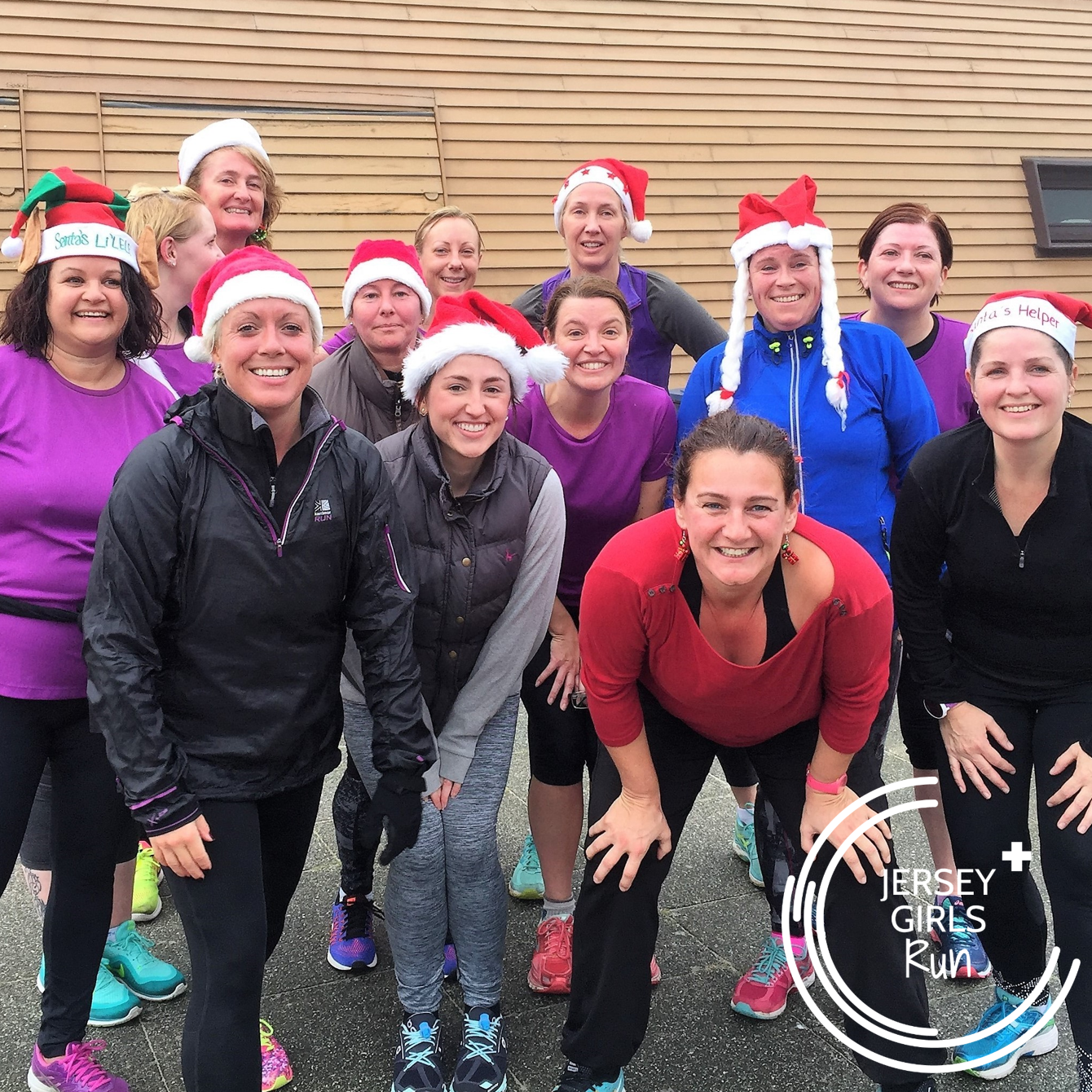 11 DECEMBER 2016 - Christmas Fun Run and Lunch - JERSEY GIRLS organised a Christmas Fun Run followed by a lunch at Coco Rico. Two routes were set, one for 5k and another for 10k so that all JERSEY GIRLS could be included. Great start to the festive season.