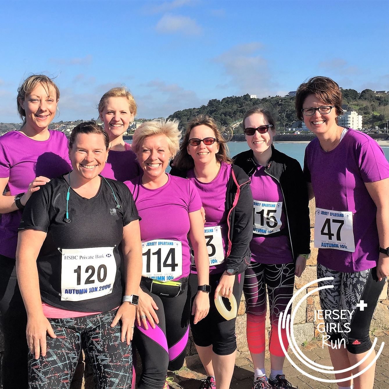 2 APRIL 2017 -  Jersey Spartan Athletic Club's Spring 10k  - WELL DONE to our JERSEY GIRLS who took part in the Jersey Spartan Athletics Club's 10k race.  Debbie and Kathryn have been training on our 5k and Beyond program which started in the middle of January and has built them up from 5k to be able to run 10k.