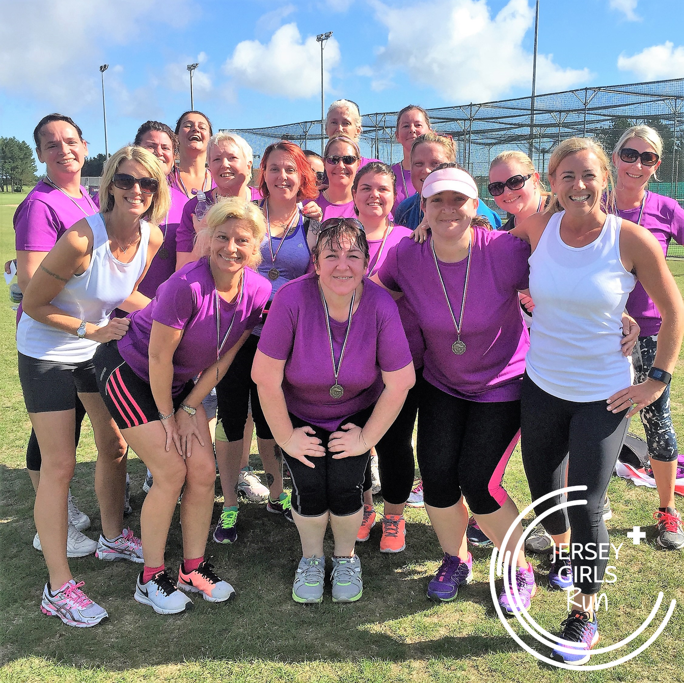 6 AUGUST 2016 - JERSEY GIRLS' first parkrun - What a fantastic day! Our first group of C25kers headed up to parkrun to complete their first 5k. What an amazing 9 weeks we've had with them.