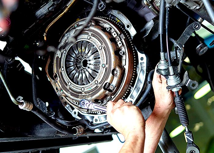Car shop that rebuilds European Car transmissions