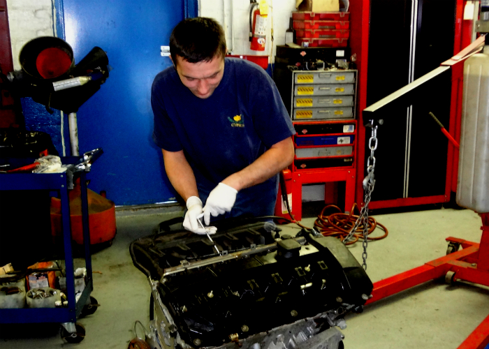 At Quality Auto Care we repair and rebuild engines for your European car