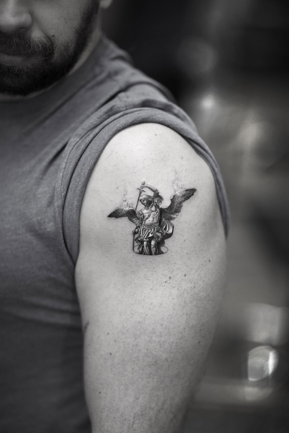 Angel-Saint-Michael-by-Alessandro-Capozzi-in-Aureo-Roma-Tattoo-&-Gallery.jpg