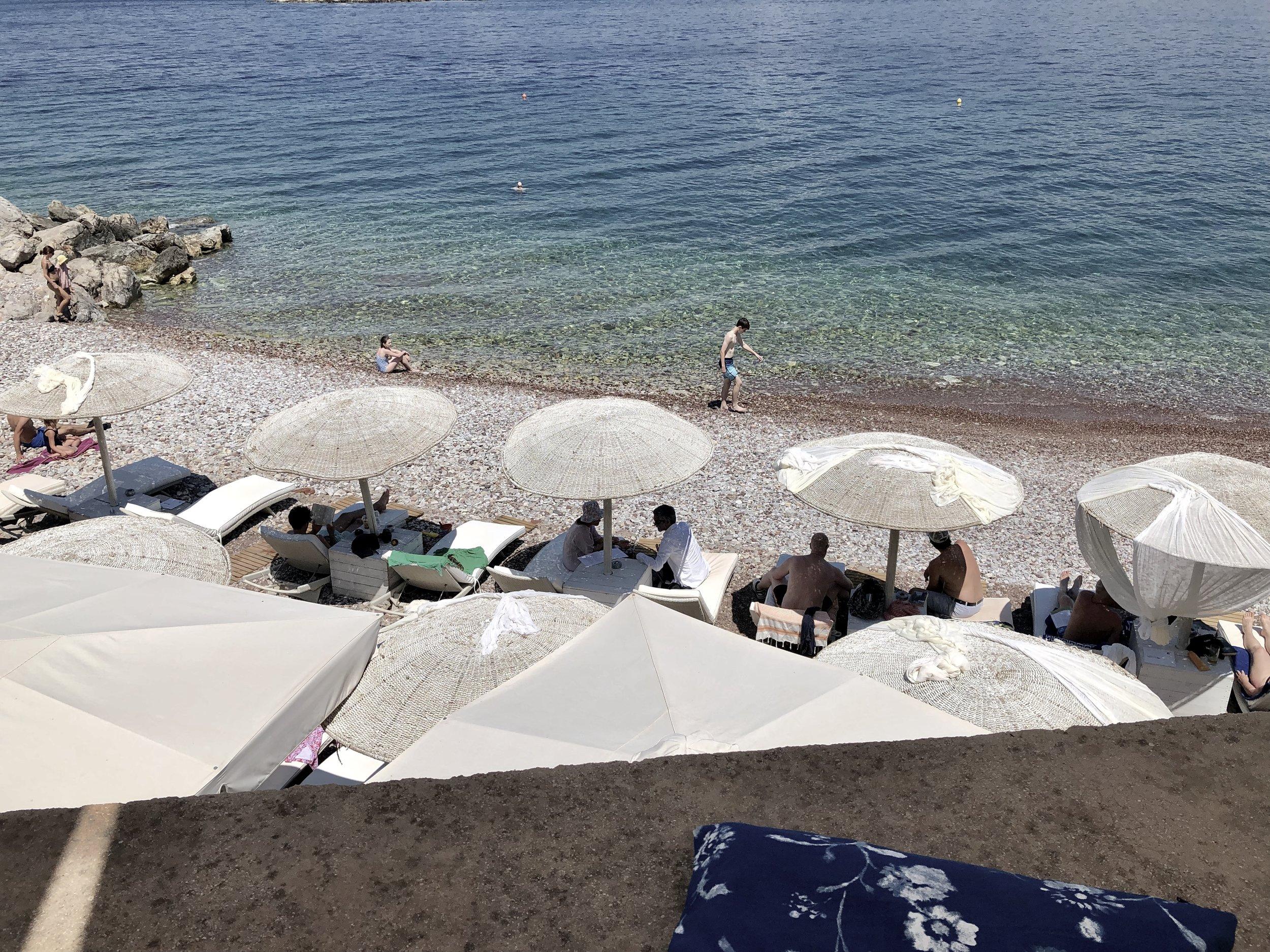 Castello, Kamini Beach, Hydra