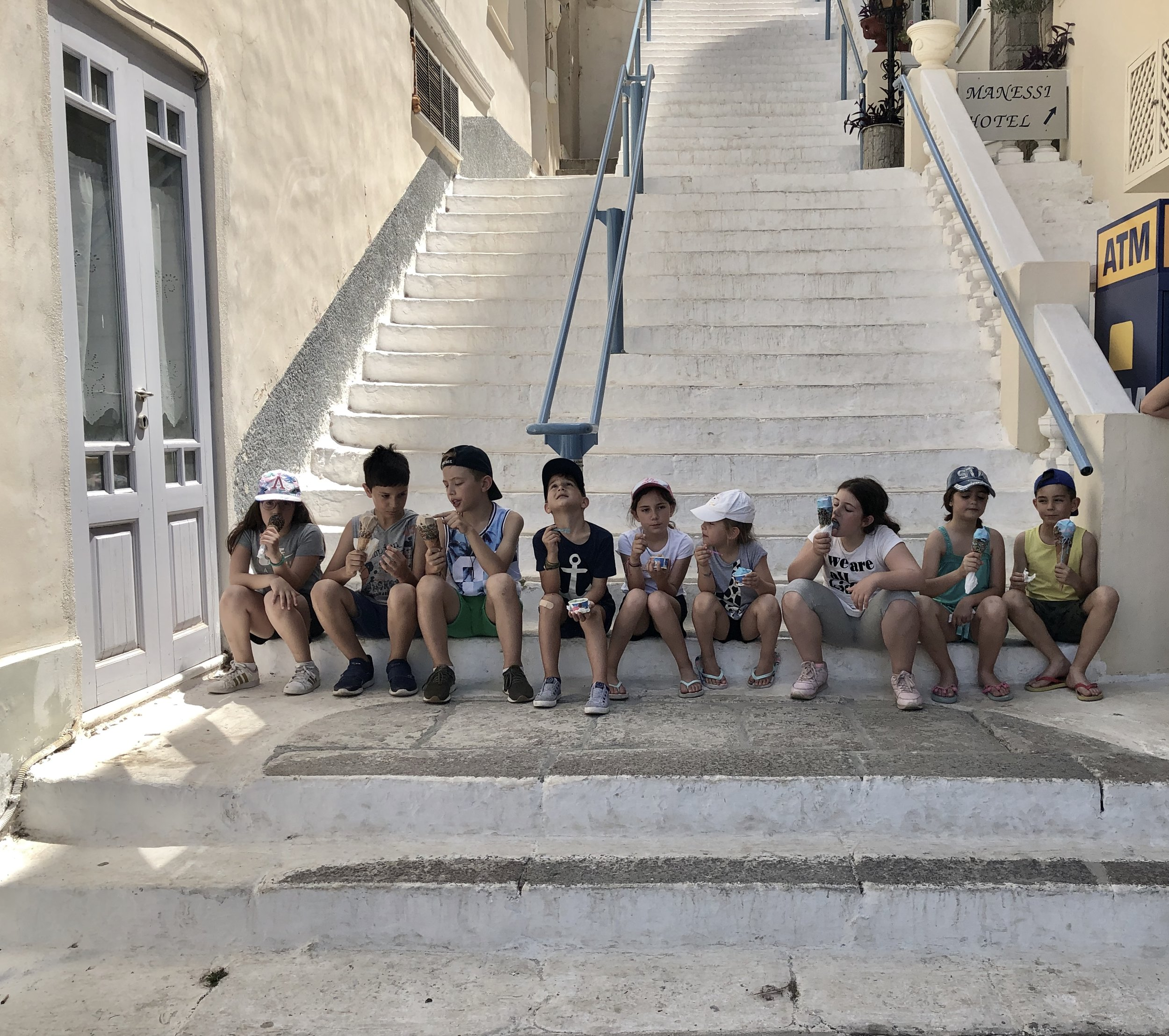 Children from Poros