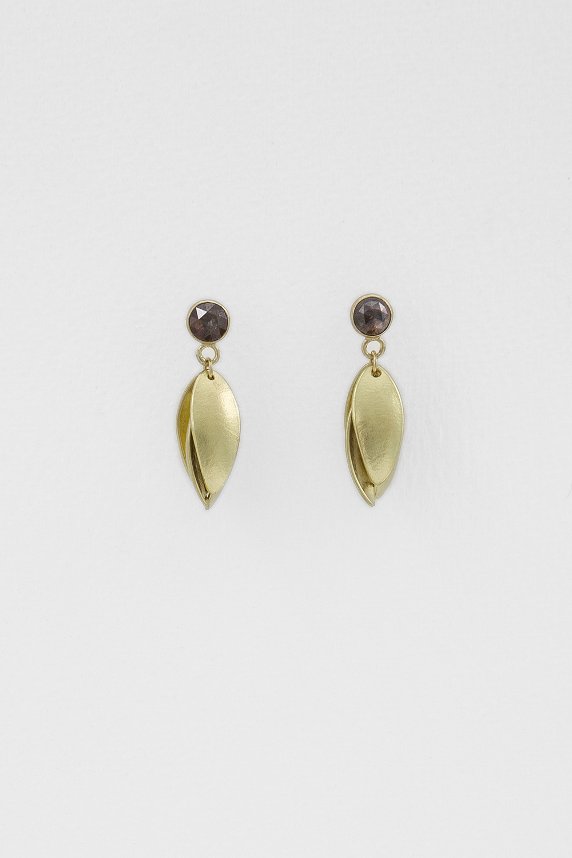 Diamond Nestling Earrings