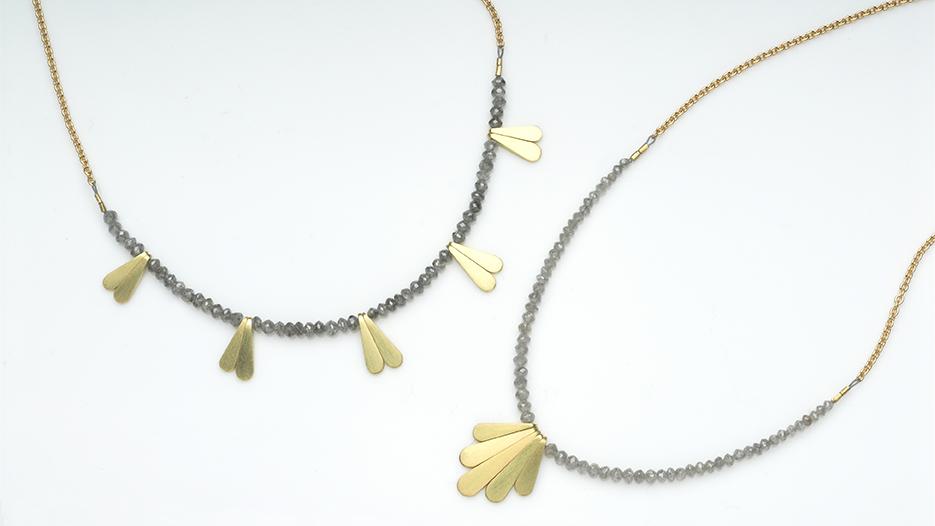 lacewing and fan pendants. grey diamonds 72.jpg