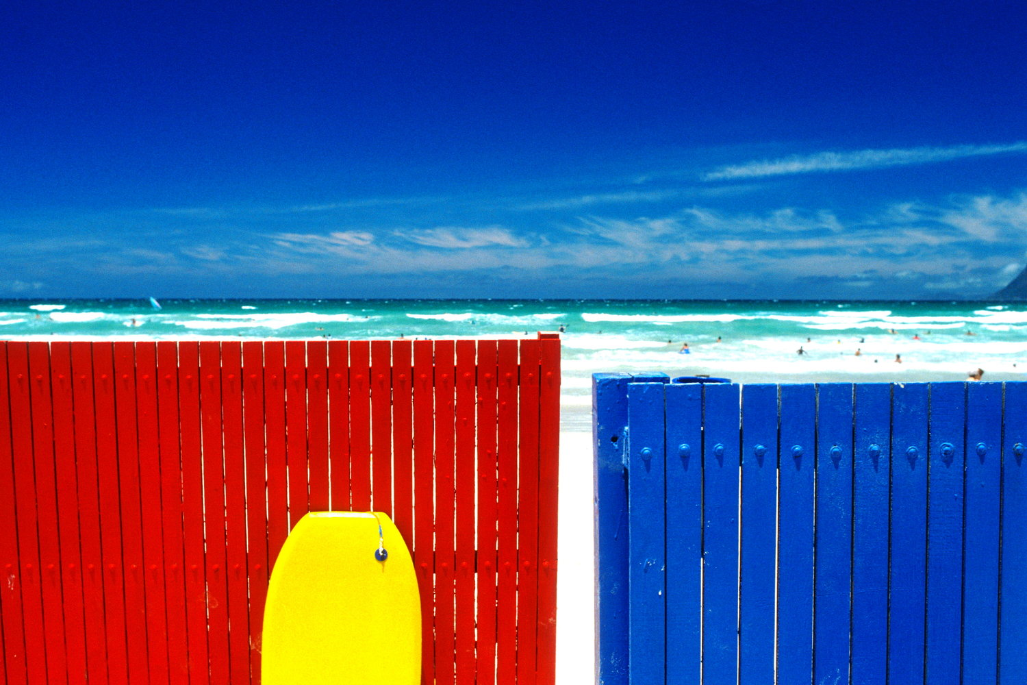 beachfences and bodyboard  muizenberg / south africa   buy here