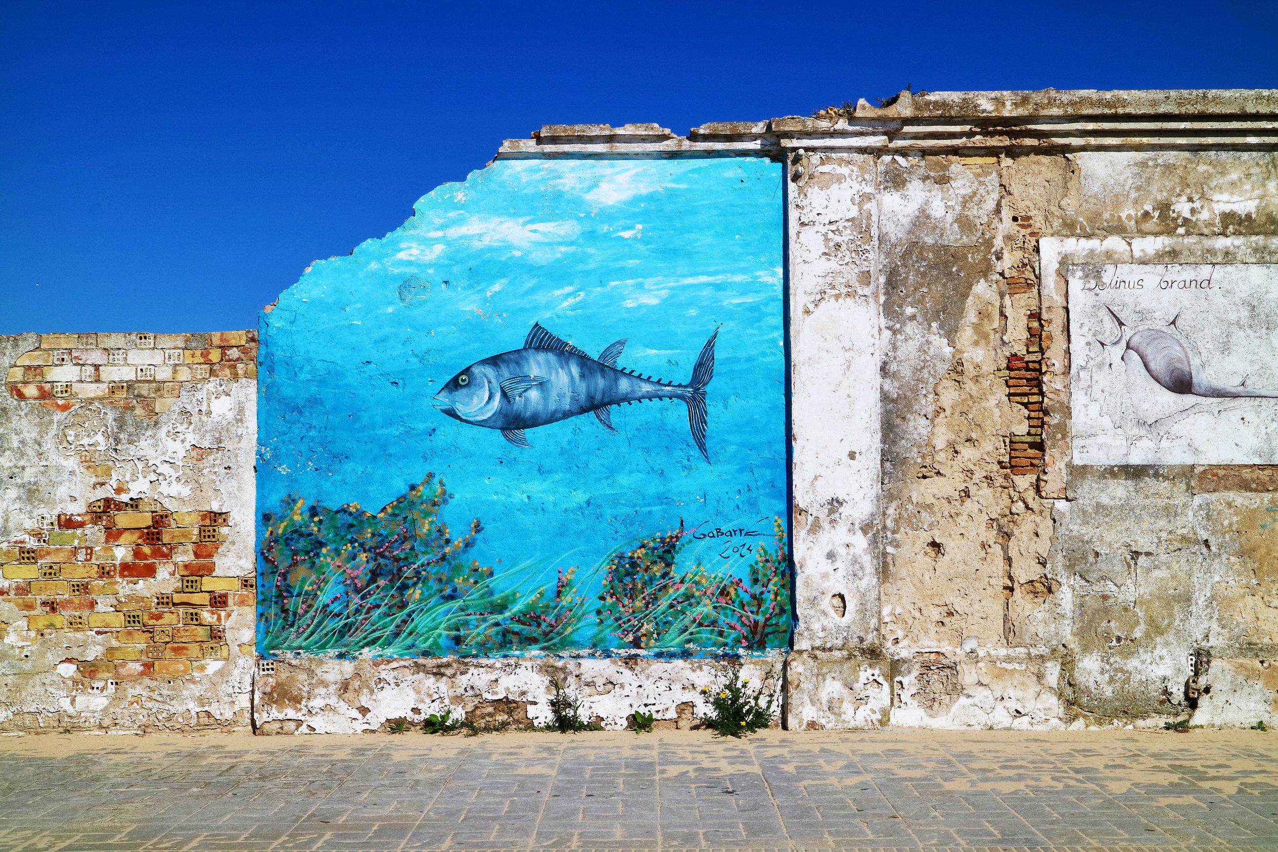 mariscos pinturas  poblado sancti petri / chiclana de la frontera / andalucía   buy here