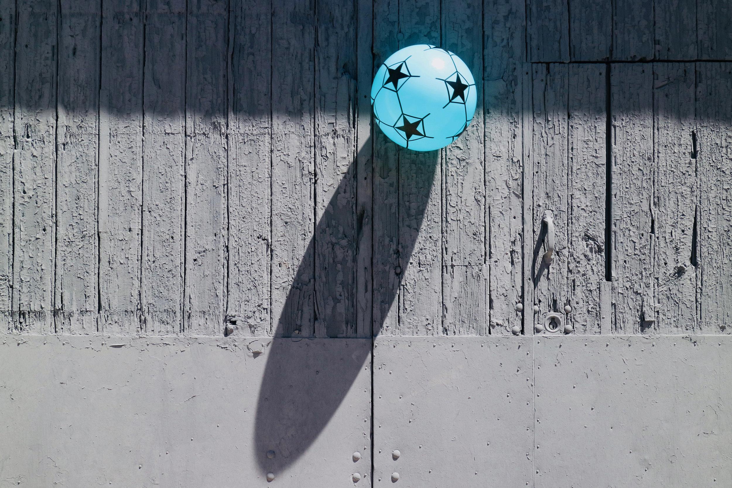 bola de estrellas  chiclana de la frontera / andalucía