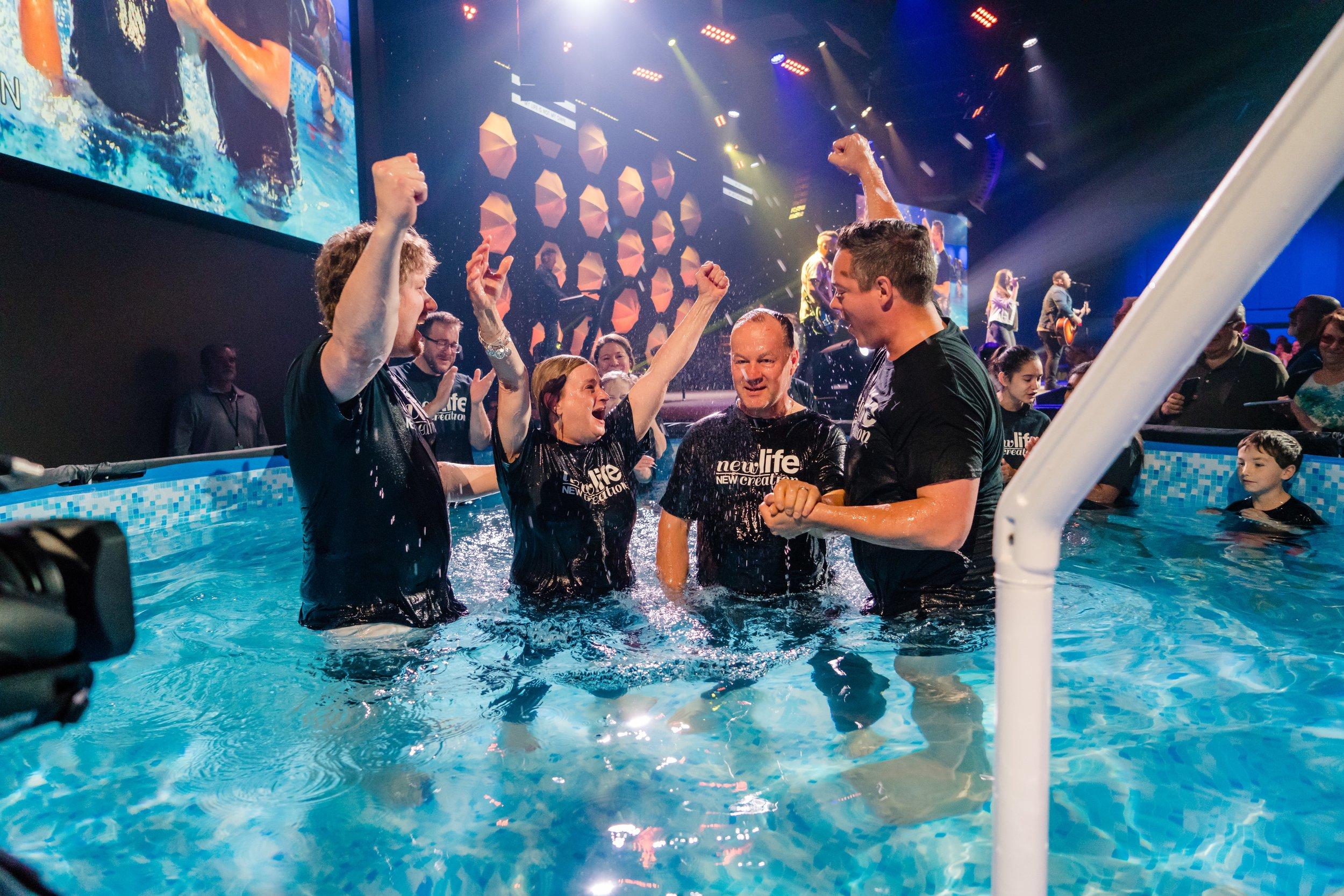 Mooresville Baptism