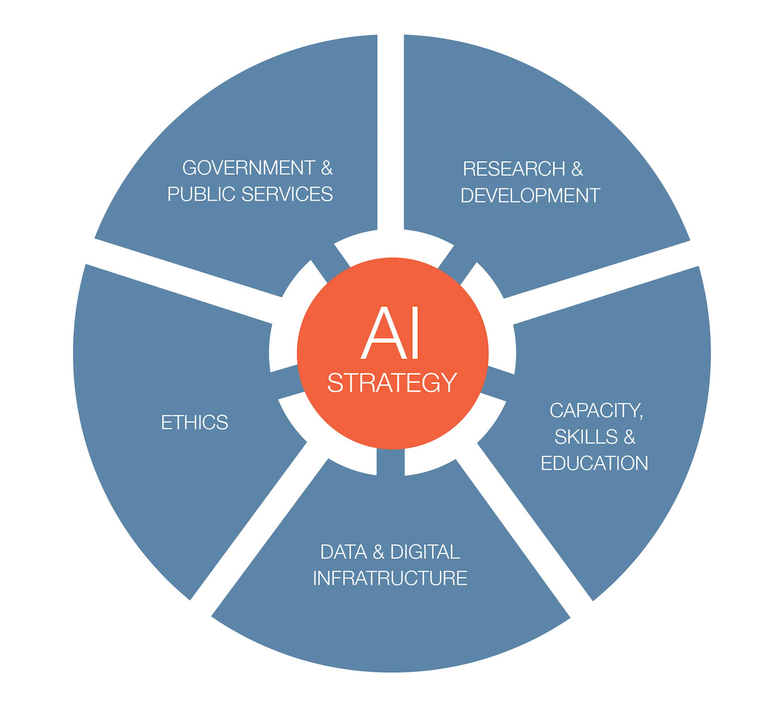 Figure 1 | Key areas for AI strategies