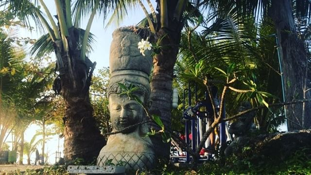Before 8am.. . . . . #morning #sunrise #kohsamui #island #ganesh