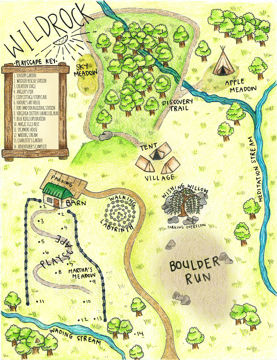 Map of Wildrock