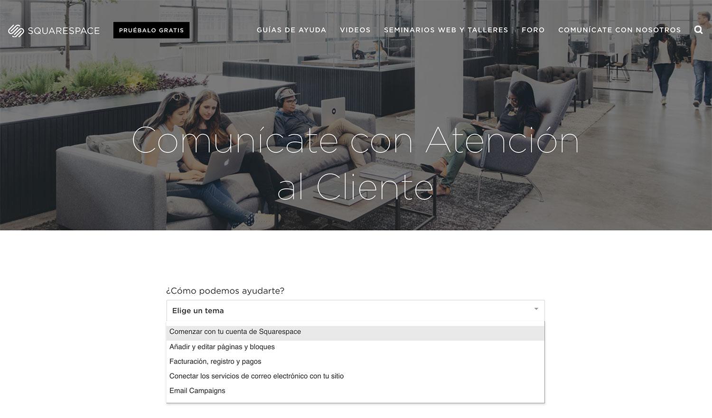 No solo la página de  atención al cliente  ya está en español, sino que las respuestas a tus mensajes también son en nuestro idioma.