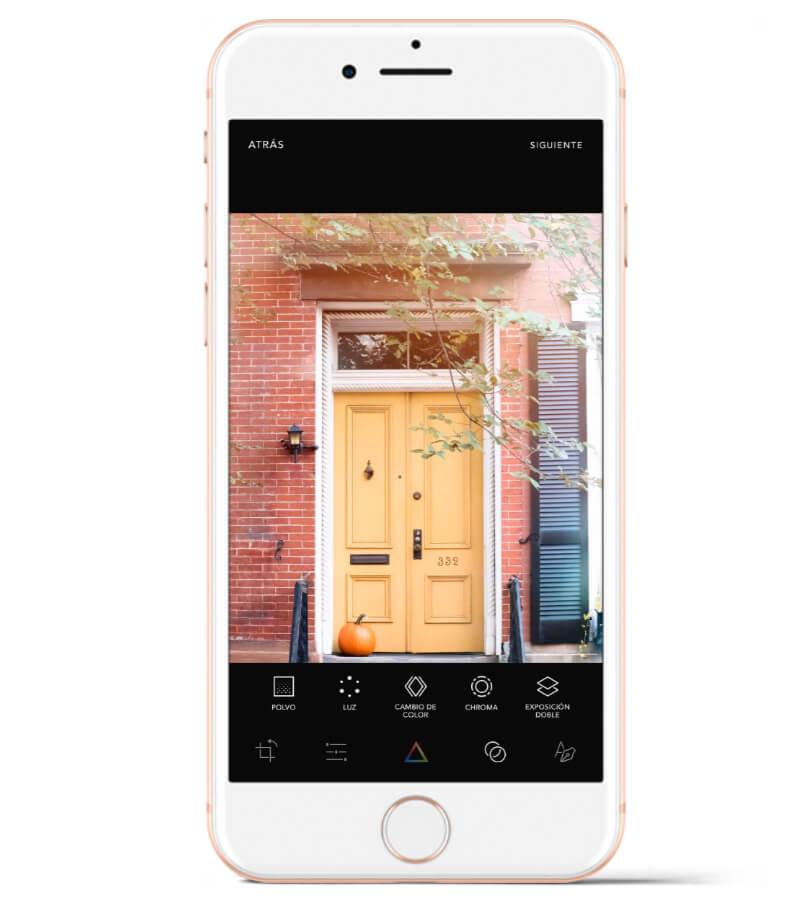 Afterlight es una app que uso mucho para añadir filtros de luz a las fotos.