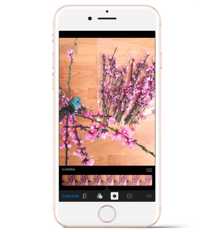 Una de las mejores aplicaciones si tienes iPhone: la herramienta de edición nativa de la app de Fotos.