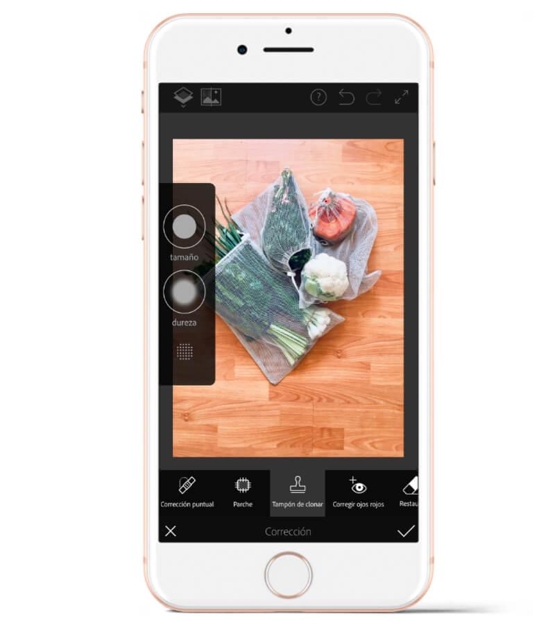 Con Adobe Photoshop Fix podrás corregir imperfecciones en tus fotos con unos pocos toques.