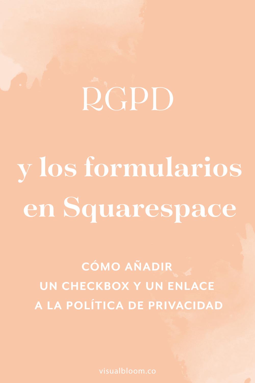 En este post te explico cómo puedes añadir las casillas de verificación y los enlaces en los formularios de suscripción de Squarespace.#Squarespace #DiseñoWeb #SquarespaceEnEspañol #Emprendimiento #Bloggera #NegociosOnline