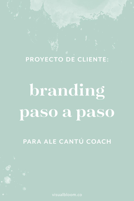En este post te desvelo el proceso de diseño detrás del rebranding de Ale Cantú Coach. #DiseñoIdentidad #branding #emprendimiento #blogger #negociosonline #logo #MarcaPersonal