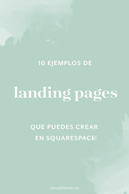 De todas las cosas que incluye Squarespace, probablemente una de las mejores y más jugosas sean las Cover Pages, que no es otra cosa que como se llaman en esta plataforma las landing pages. Aquí te muestro diez ejemplos. #Squarespace #DiseñoWeb #Blogger #NegocioOnline #SquarespaceEnEspañol