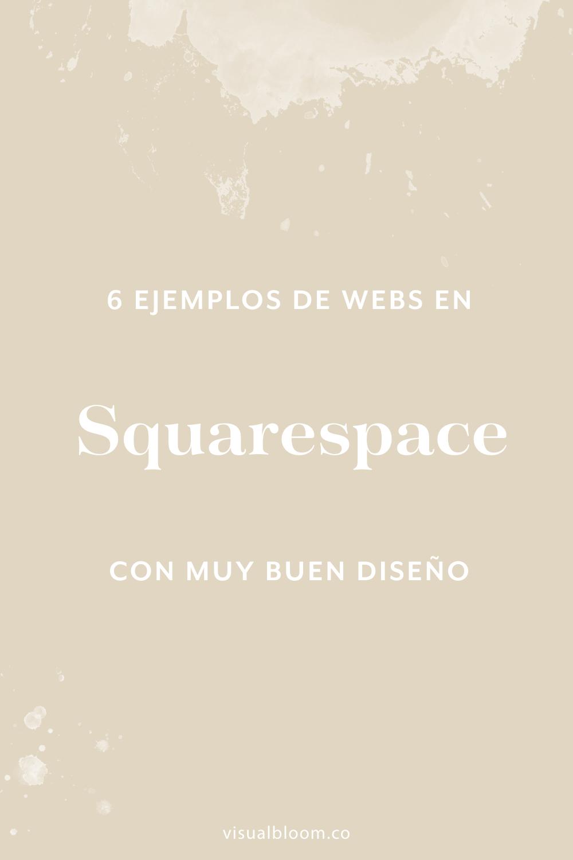El secreto para un buen sitio web no es la plataforma, sino el trabajo de diseño que haya detrás. En este post te muestro cómo es posible diseñar en #Squarespace sitios web originales y con mucha personalidad, aunque sea una plataforma que trabaje con plantillas. #diseñoweb #branding #SquarespaceEnEspañol