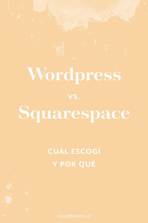 Las plataformas para crear sitios web: Blogger, Wordpress, Squarespace... ninguna es mejor o peor que la otra. Sencillamente tienen características diferentes que les vendrán bien o no a personas diferentes, en función de sus gustos y necesidades. En este post te cuento por qué, en mi caso particular, me decanté por #Squarespace. #diseñoweb #negociosonline #blogger #SquarespaceEnEspañol