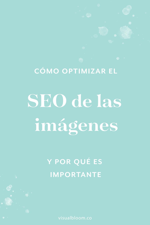 ¿Sabías que las imágenes también pueden ayudarte con el posicionamiento de tu web en Google? Pues sí. Así que en este post te explico cómo funciona eso del SEO de las imágenes, cómo optimizarlo, y por qué es súper importante que lo cuides. #Marketing #SitioWeb #SEO #Blogger #NegocioOnline