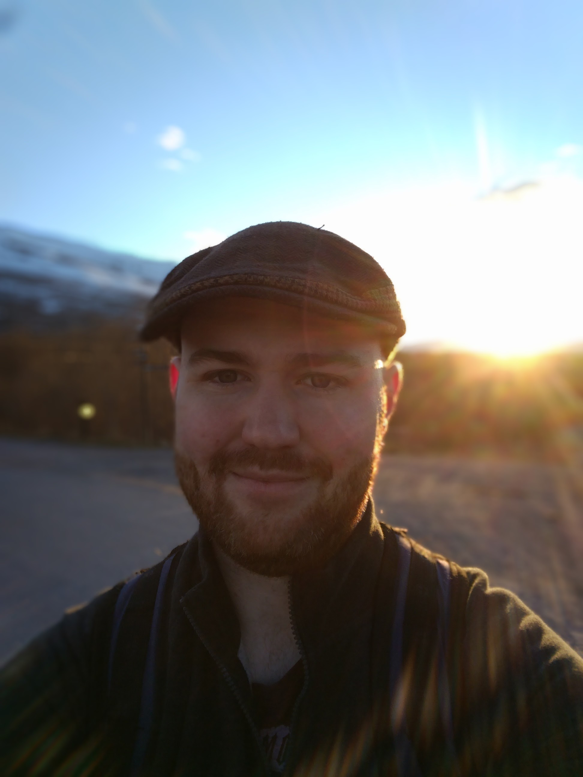 Hking in Abisko National Park, Sweden