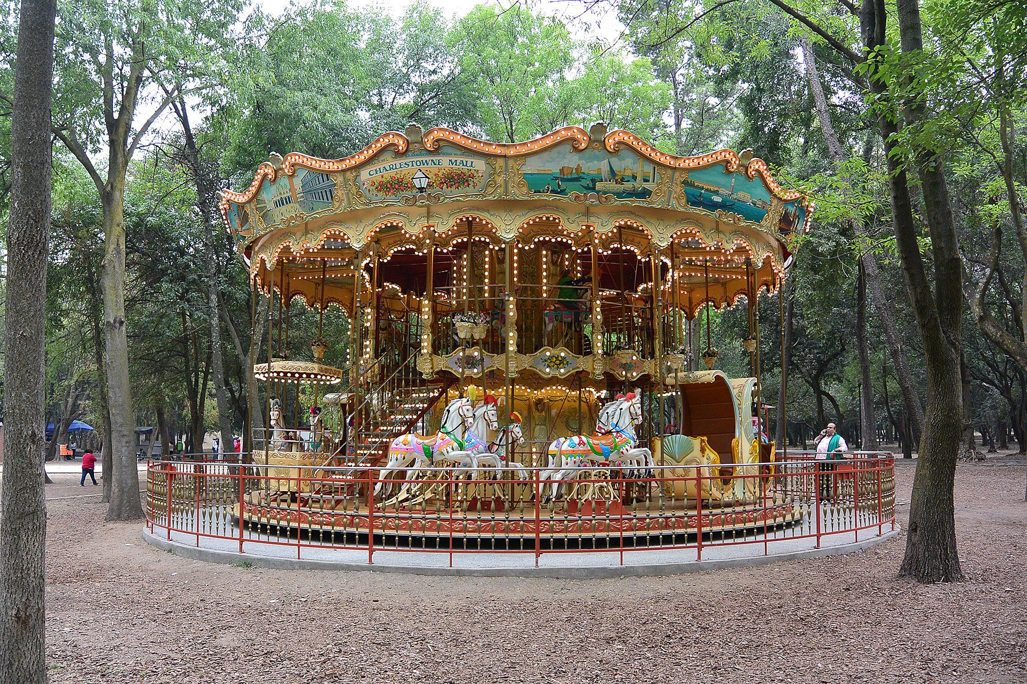 Mexico City Chapultepec Carousel