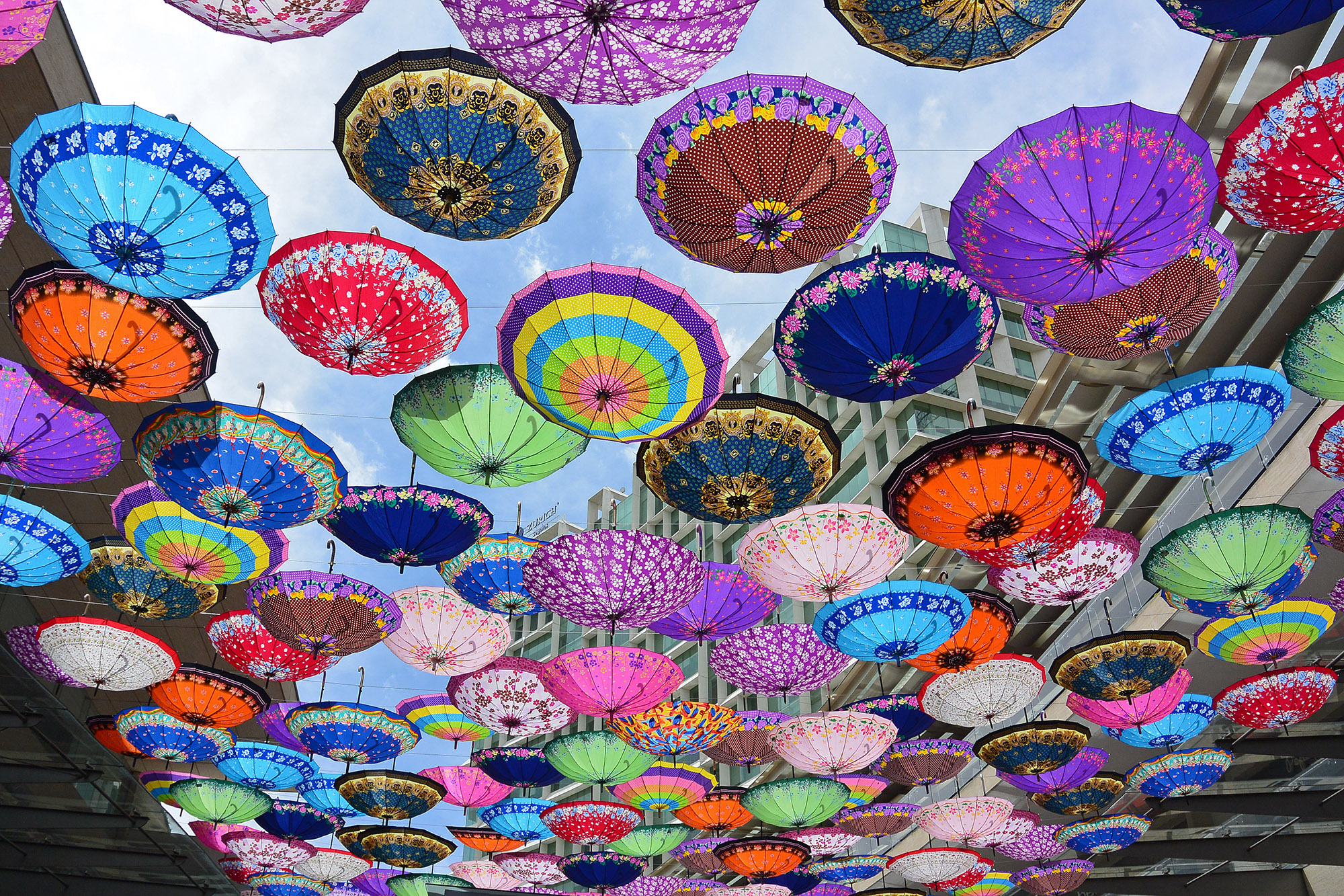 Free Things to do in Mexico City - Polanco Umbrellas