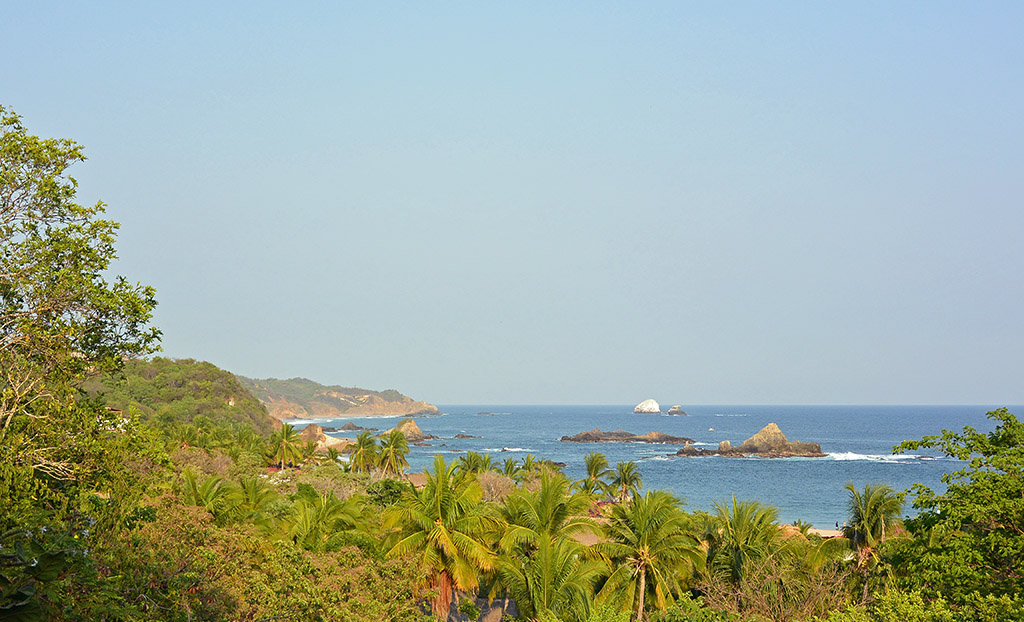 Beaches in Mazunte, Mexico