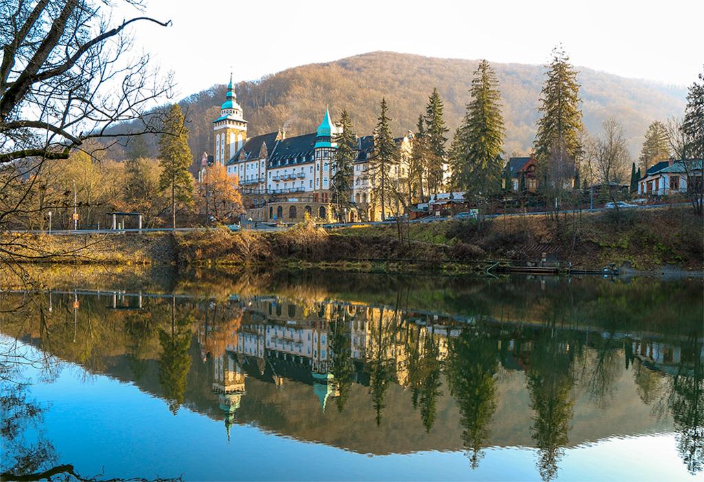 Lillafured, Hungary Lake